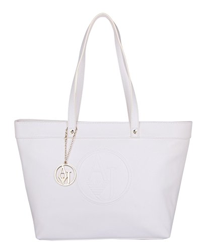 Armani Jeans - Borse Shopping - Bianco