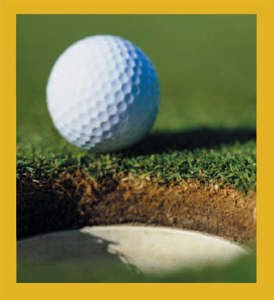 Gift Trenz Golf Ball Magnetic Bookmark - 1