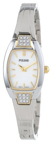 Pulsar Bangle with Swarovski® Crystal Stainless Steel Women's watch #PTA504