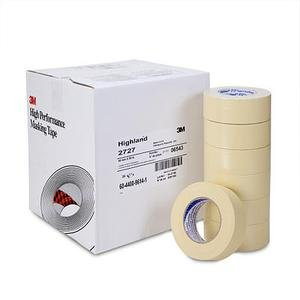 3M Automotive (MMM6543) Highland Masking Tape 2727, 48mm x 55m
