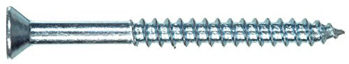 The Hillman Group 35044 Flat Head Phillips Wood Screw, 4 x 3/4-Inch, 100-Pack