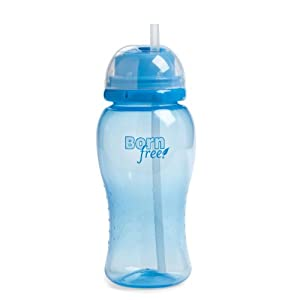 Born Free 410 ml Straw Cup (Blue)