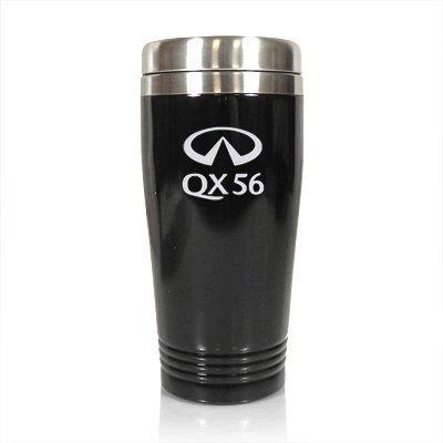 infiniti-qx56-black-stainless-steel-travel-mug-by-au-tomotive-gold-inc