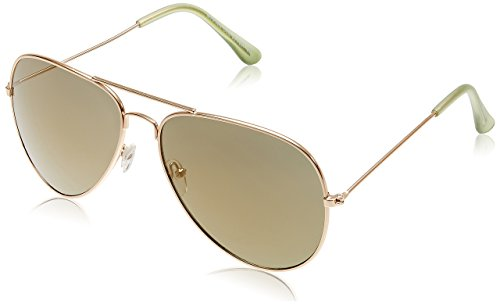 MTV Aviator Sunglasses (Medium Light Gold) (MTV 066 COL 201/207)