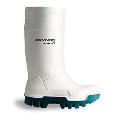 Stivali da lavoro Dunlop Purofort Thermo + sicurezza completa termici Bianco, senza puntale in acciaio - 42 - C662143