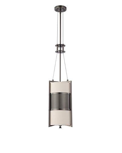 Nuvo Lighting Diesel 1-Light Vertical Pendant, Hazel Bronze