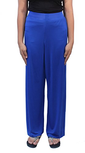 Romano Women's Blue Plazo Pant