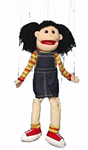 Hispanic Girl Marionette by Sunny Puppets