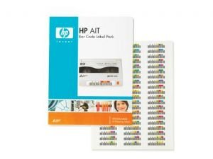 HP AIT bar code label pack