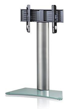 """VCM 17055 TV-Standfuss """"'Findal"""", TV-Rack Aus Aluminium ohne Zwischenablage"""