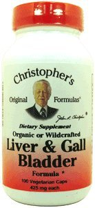 Christopher's Original Formula, Liver & Gall Bladder Formula, 440 mg, 100 Veggie Caps