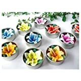Relax Spa Shop® Lilly Flower Candle In Tea Lights, Floating Candles, Scented Tea Lights, Aromatherapy Relax...
