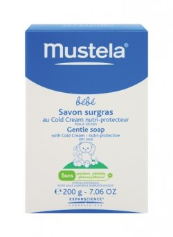 Mustela Gentle Soap with Cold Cream for Kid, 5.29 Ounce