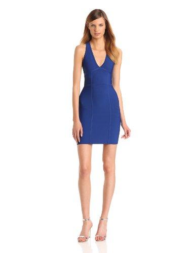 BCBG MAX AZRIA - Vestito, Senza maniche, Donna, Blue - Bleu (Royalblue), M