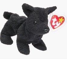 TY Beanie Babies Scottie the Dog Plush Toy Stuffed Animal - 1