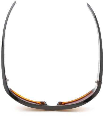 Kaenon Men s Arlo Polarized Rectangular Sunglasses Black