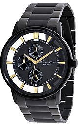 Kenneth Cole New York Bracelet Black Dial Men's Watch #KC9222
