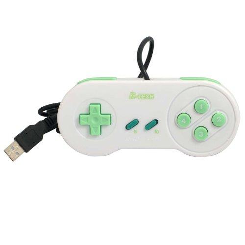 USB Gamepad ergonomic SLIM, SNES Style