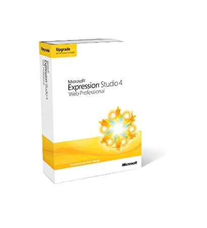 Microsoft Expression Studio 4 Web Professional, Upgrade edition (PC)