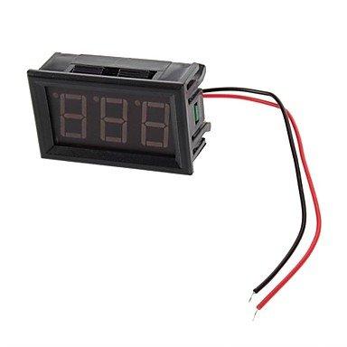 """2 Wire 0.56 """" Blue Led Mini Digital Voltmeter Ac 75-300V Led Voltage Panel Meter"""