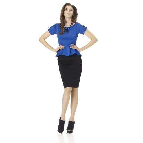 Peplum Hannah Top
