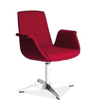 """Design Sessel """"Alan"""" Rot"""