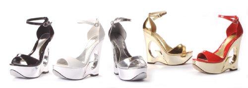 Women's 621-DINA, 6 Wedge Heel Sandal by Ellie Shoes