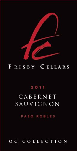 2011 Frisby Cellars Cabernet Sauvingon, Paso Robles. Silver Medal 2014 San Francisco Chronicle Wine Competition