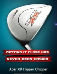 New Acer XK Chipper Flipper Golf Club Custom Right Hand