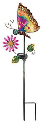 Regal Art And Gift 10545 Solar Stake Butterfly Home