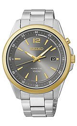 Seiko Kinetic Men'S Kinetic Watch Ska602