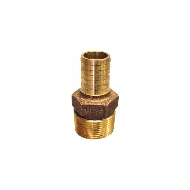 Low Lead Brass Hose Barb Reducing Adapter
