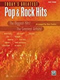 Todays Greatest Pop & Rock Hits: Easy Piano (Todays Greatest Hits)