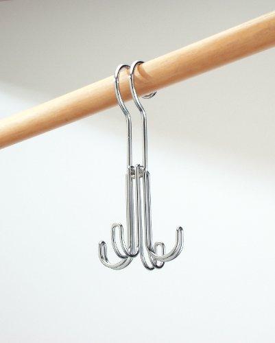 InterDesign Classico Rod Hook 4, Chrome