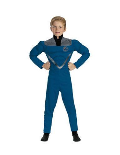Mr Fantastic Muscle 4 To 6 Kids Boys Costume