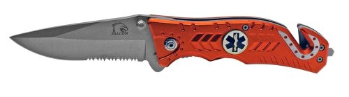 Falcon Emt / Ems Rescue Folding Knife