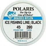200YD ICE FISHING LINE 45,BLK