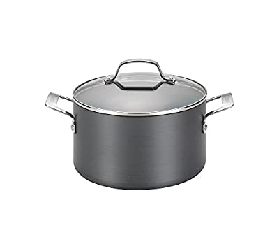 Circulon Genesis 4.5-qt. Hard-Anodized Nonstick Covered Dutch Oven