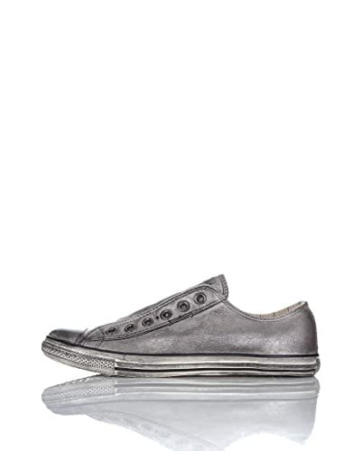Converse Sneaker A/S Varvatos Leather Lp Slip [Argento]