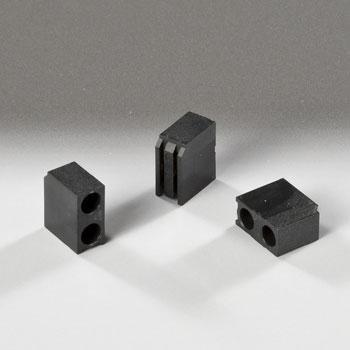 Led Mounting Hardware Led Holder 3Mm 2 Level Black (1 Piece)