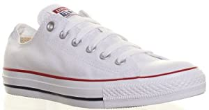 Converse All Star Ox Shoes - White - Size UK 6