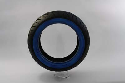 V-Twin 46-0451 Vee Rubber 180/50R X 18 Whitewall Tire