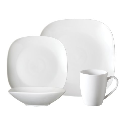 Gibson Euro Bliss 16-Piece Fine China Dinnerware Set