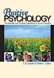 Positive Psychology Publisher: Sage Publications, Inc