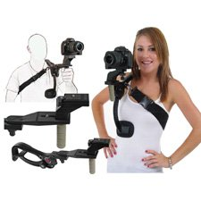 HDSLR Camera Video Stabilizer with Handle-by-ups