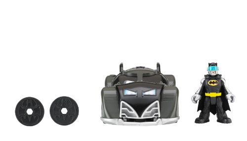Batmobile Toy Imaginext Batman And Batmobile Toys