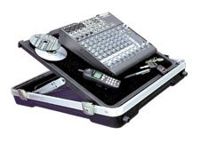 SKB SKB-2219P Mixer Case Heavy-Duty Hook and Loop Fastener Surface, ATA-300 Cat 1, Lockable