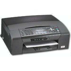 Brother MFC 255CW - Multifonction (t?l?copieur / photocopieuse / imprimante / scanner) - couleur - jet d'encre - copie (jusqu'?) : 20 ppm (mono) / 18 ppm (couleur) - impression (jusqu'?) : 30 ppm (mono) / 25 ppm (couleur) - 100 feuilles - 14.4 Kbits/s - U