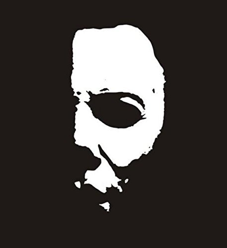 michael-myers-half-face-t-shirt