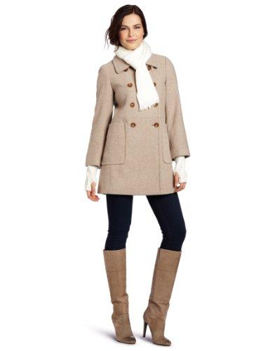 527ea327cf238 Calvin Klein Women's Scarf Wool Coat